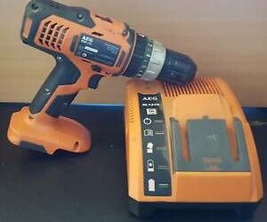 AEG 18v Combo Drill and Multi Battery Charger Merrylands Parramatta Area Preview