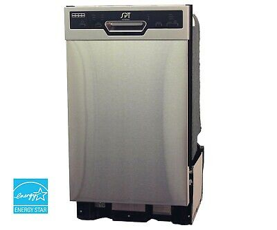 "SPT 18"" Built-In Dishwasher Fervent Drying Energy Star 2019 - Stainless SD-9254SS"