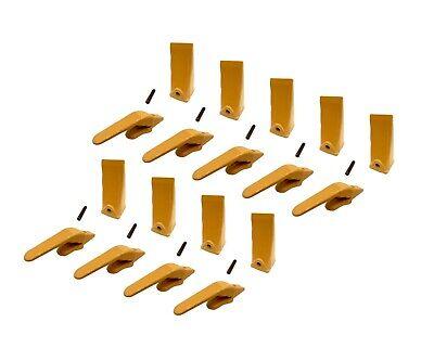 9 Mini Excavator Weld-on Adapters Teeth Pins Combo 238-3204 1 238-3202 Lp