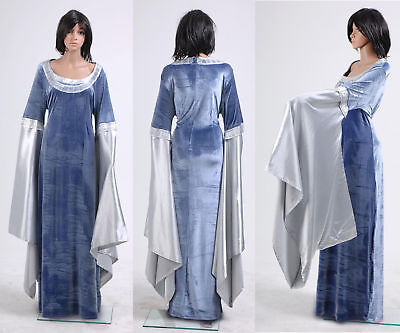 The Lord Of The Rings Arwen Traveling Dress Costume Cosplay - Arwen Halloween Costume