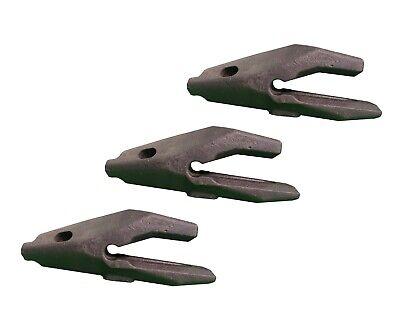 3 Backhoe Bucket Adapters 168-1204 34 Bucket Lip Fits Cat Drs200 Bucket Teeth