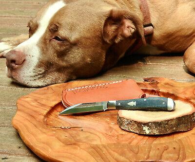 Northwoods Knives Hawthorne Jack Denim Micarta Wharncliffe Blade Mint