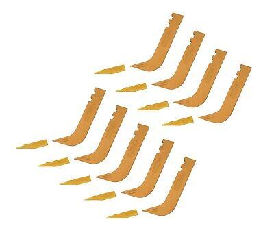 9 - Set Of 8110 Scarifier Shanks With 6y5230 Scarifier Teeth