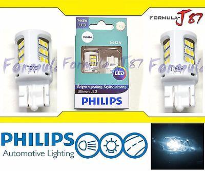 Philips Ultinon LED Light Bulb 7443 White 6000K Turn Signal Side Marker Tail OE