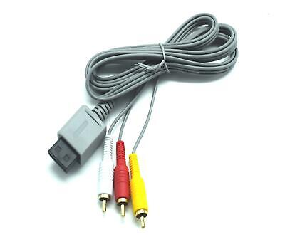 Audio Video AV Composite RCA Game Cable TV Lead Wire for Nintendo...