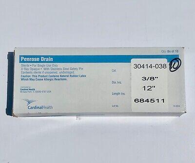 Cardinal Health Penrose Drain 30414-038 Box Of 10