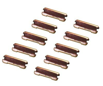 10 Flex Pins Fits Many Bobcat Backhoe Mini Ex Skid Bucket Teeth- 6737326