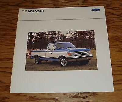 1990 90 Ford F150 Pickup (Original 1990 Ford Truck F-Series Pickup Sales Brochure 90 F-150 XL XLT)