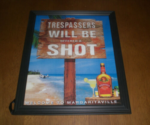 MARGARITAVILLE TEQUILA FRAMED COLOR AD PRINTS - YOUR CHOICE