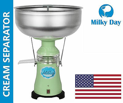 Electric Cream Separator Milky Fj130 Epr 34 Galhour 115v