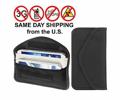 Gps Signal Jammer - Cell Phone GPS Signal Tracking Blocker / Jammer Pouch Case Bag. Prevent Tracking