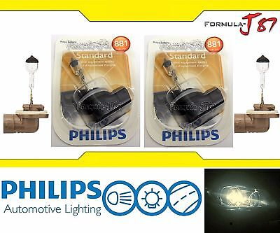 Philips Standard 881 27W Two Bulbs Head Light Replacement Snowmobile Lamp