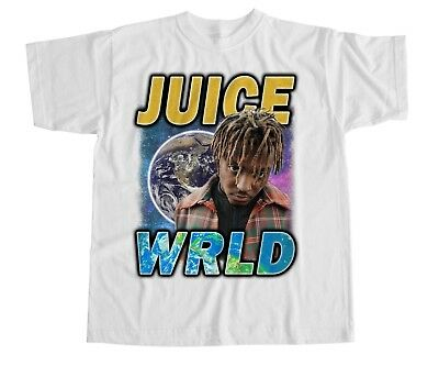 Juice WRLD T Shirt Lucid Dreams White Iverson Hip Hop Tribute Lil Uzi Vintage