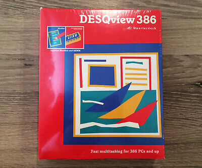 DESQview 386 for DOS (Quarterdeck Office Systems) New & Sealed