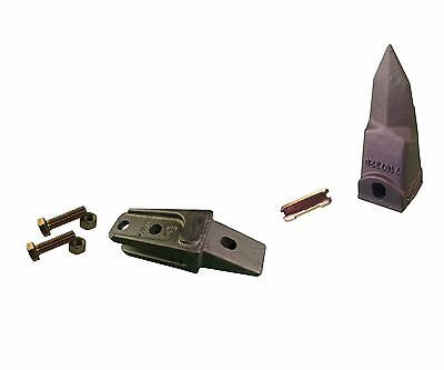 1 - Bobcat Style Mini Ex Skid Bucket Shank Rock Tooth Pin - 7107324 7107320