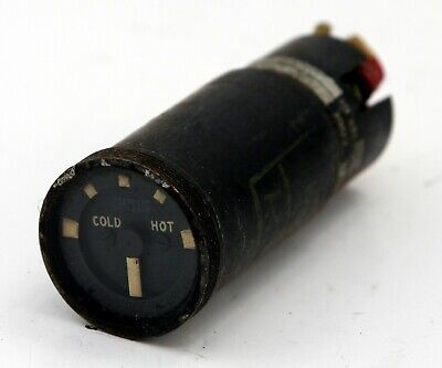 Air conditioning temperature indicator for RAF Victor aircraft (GD7)