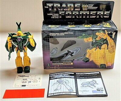 G1 Transformers BARRAGE. Complete.