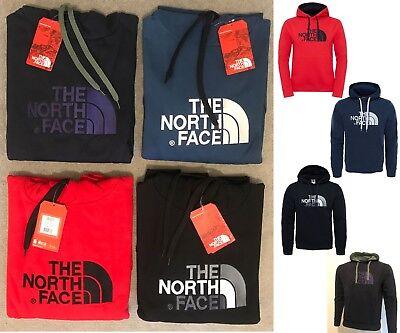 The North Face Fleece Hoodie Men's Sweatshirt Classic Top Drew Peak Pullover