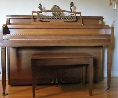 Upright Piano Serial