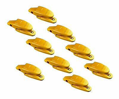 9- Cat Style Backhoe Mini Excavator Bucket Shanks - 119-3205 34 Lip Thicknes