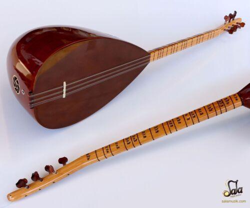 Turkish Quality Short Neck Walnut Baglama Saz For Sale ASK-111N