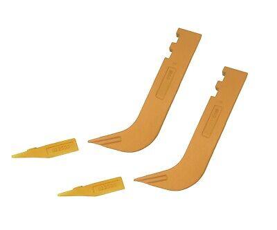 2 - Set Of 8110 Scarifier Shanks With 6y5230 Scarifier Teeth