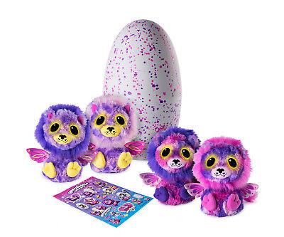 Hatchimals Ligull lot Surprise Exclusive Lion Twins 2 Stuffed Plush Inside HTF