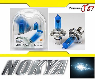 Nokya 7000K White 9003 HB2 H4 Nok7413 60/55W Head Light Bulb High Low Dual Beam