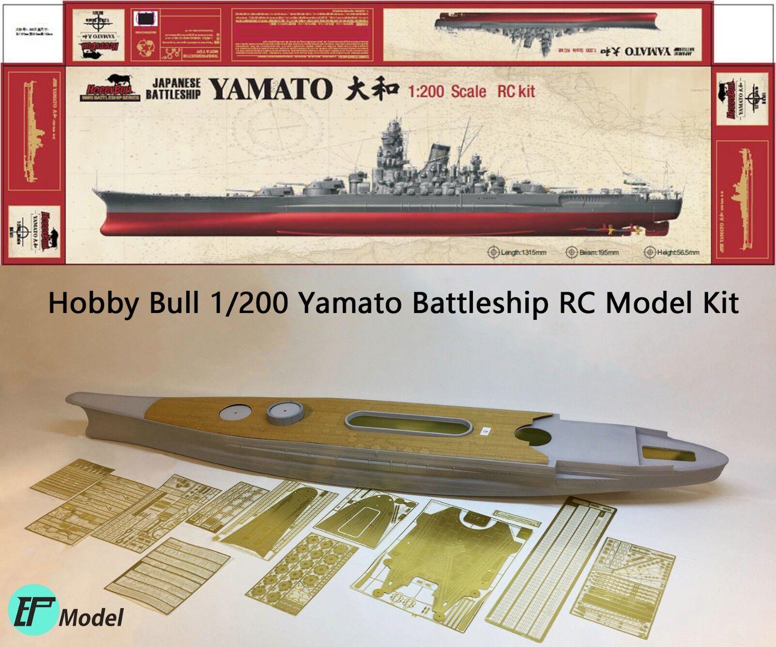 Hobby Bull 1/200 Yamato Battleship RC Kit