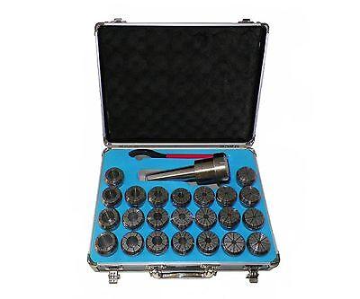 Er40 With Morse Taper No.5 Collet Chuck Tool Hold Set 23 Pcs 5mt Er 40