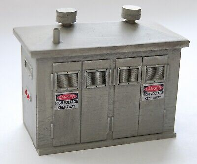 BUILDING PLANS -Electrical Control Cabinet G Scale 1:24 Model Railroad Diorama for sale  Shipping to India