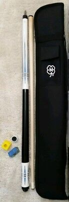 Brand New McDermott Pool Cue w/ Accessories Billiards Stick Free Soft Case, KIT5 Billiard Cue Free Case