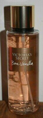 NWT Victoria's Secret BARE VANILLA Fragrance Mist Body Spray Cashmere Vanilla  Secret Vanilla Body Spray