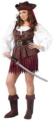 High Seas Buccaneer Big & Beautiful Plus Size Pirate - Women's Plus Size Pirate Costume