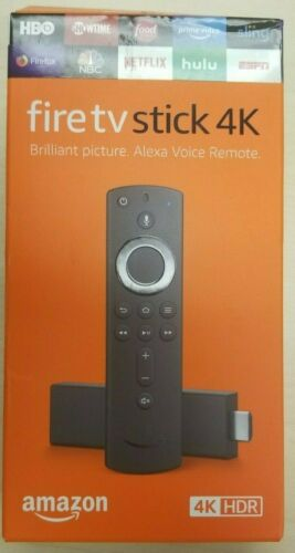 Amazon Fire TV Stick 4K w/ Alexa Voice Remote, Latest 2019 Version!