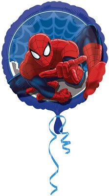 Spider Man rund  ca. 45cm Luftballons Folienballon Geburtstag Figur deko XL