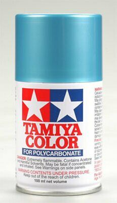 PS-49 Polycarbonate Spray Blue Anodixed Alumimum 3 oz Tamiya Paint TAM86049
