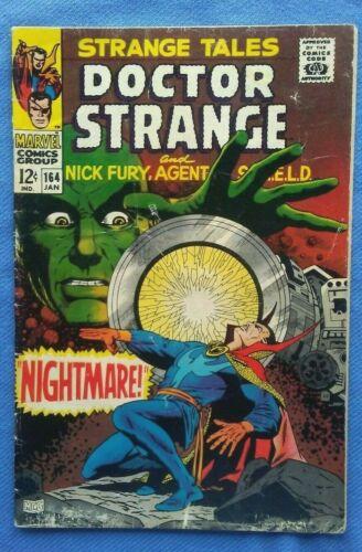 Strange Tales #164 1968 Jim Sterenko, Classic Marvel Silver Age