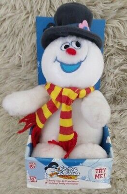 GEMMY 2004 Frosty The Snowman Animated Music Plush RARE HTF