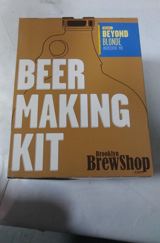 $30.00 - Brooklyn Brew Shop Beer Making Kit, Beyond Blonde, 1 Gallon