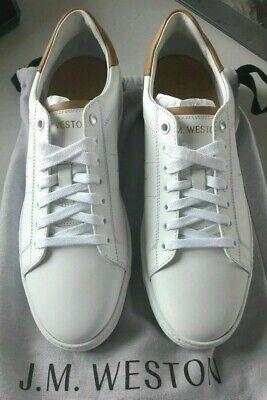 Genuine J. M. Weston luxury sneackers white new size 5/ or 6/