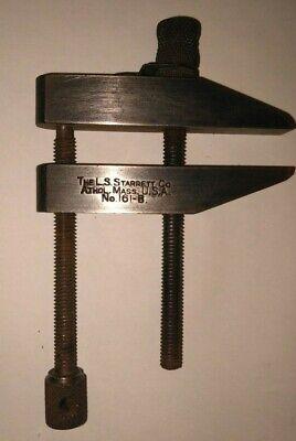Vintage Starrett Machinist Toolmaker Parallel Clamp 161-b