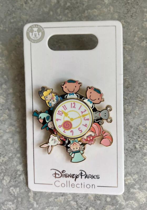 Disney SHDR Shanghai Disneyland Alice In Wonderland Spinner Pin Cheshire Rabbit