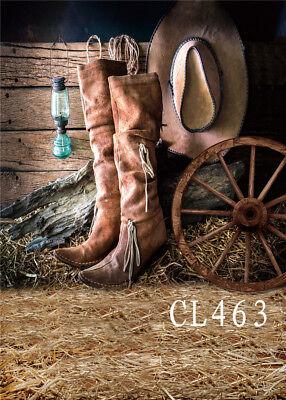 Western Cowboy Barn Polyester Photo Background Photography Backdrop Prop 5X7FT](Western Photo Backdrops)