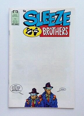 The Sleeze Brothers #3 (Aug 1989, Epic Comics)