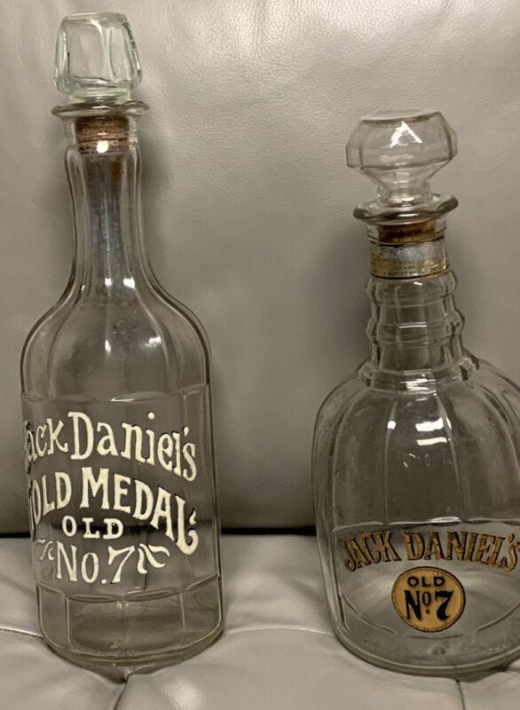 (2) Vintage Jack Daniels  Bottle Collection