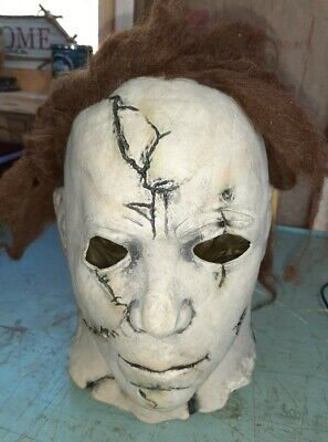 Trick or Treat Scary Adult Latex Deluxe Mask Spirit Halloween
