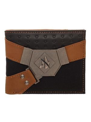 OFFICIAL SOLO: A STAR WARS STORY HAN SOLO SUIT UP BLACK AND BROWN WALLET