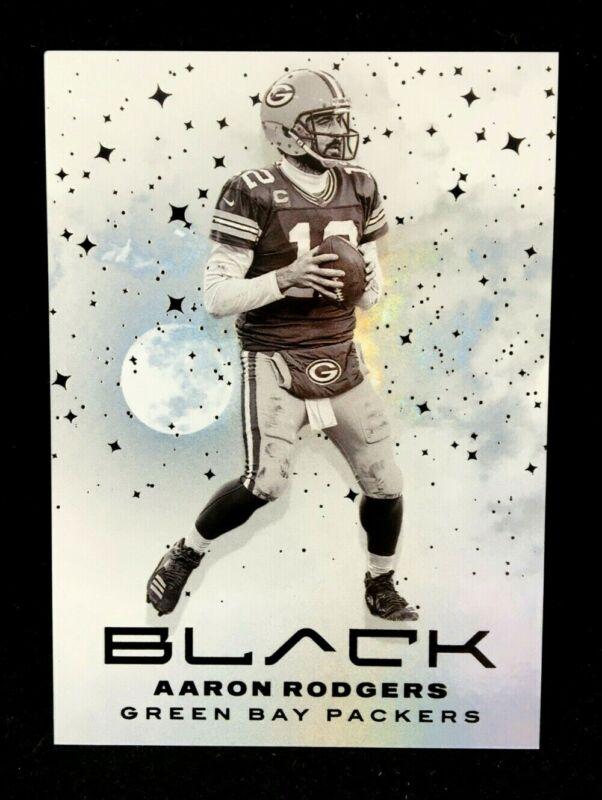 Rare Case Hit SSP 2021 Panini Black Aaron Rodgers WHITE NIGHT #WN-7 Packers MVP