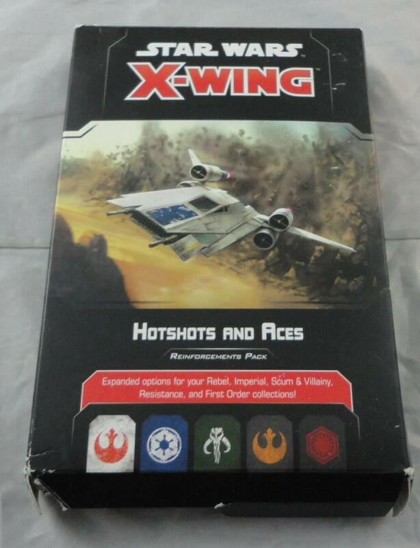 Star Wars X-Wing Hotshots and Aces Reinforcements Expansion SWZ66 (see Desc)